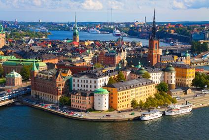 Stockholm von oben